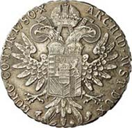 Austria, Maria Theresia, archduchess of Austria 1740-1780, thaler, silver (27.98 g), Günzburg, after 1780