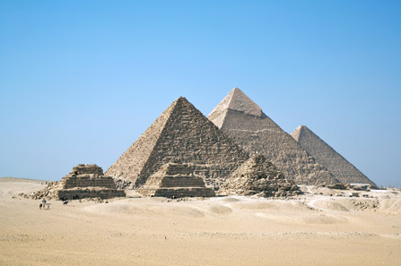 The Pyramids at Giza. Photo: Ricardo Liberato. http://creativecommons.org/licenses/by-sa/2.0/deed.en