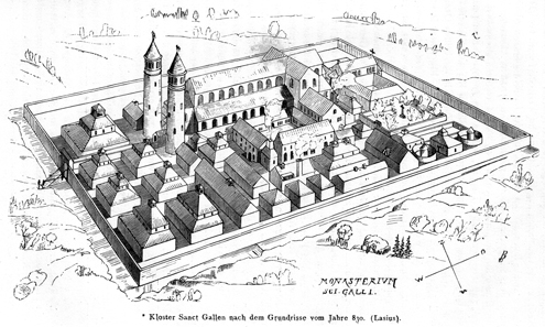 J. R. Rahn. Reconstruction of the plan from 1876. Source: Wikipedia.