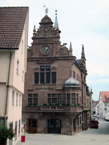 Messkirch town hall. Photograph: KW.