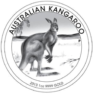 Australia / 1 AUD / silver .999 / 31.135g / 32.60mm / Design: Tom Vaughan / Mintage: 20,000.