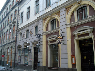 Wagner Hall in Riga. Riharda Vagnera iela 4. Source Alma Pater / http://creativecommons.org/licenses/by-sa/3.0/deed.en