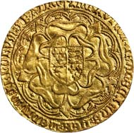 20047: GREAT BRITAIN. Henry VII, 1485-1509. Sovereign, ND (1492-93). Type I. Cross Fitchee. Estimate: $125,000-175,000. Realized: $499,375.