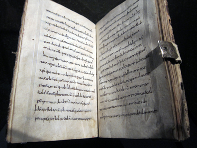 Alcuin's letters to Charlemagne. Klosterstift St. Gallen. Photo: UK.