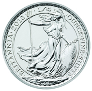 Great Britain / 1/4oz bullion coin / .999 silver / 7.83g / 22.00mm / Design: Ian Rank-Broadley (obverse), Phillip Nathan (reverse).