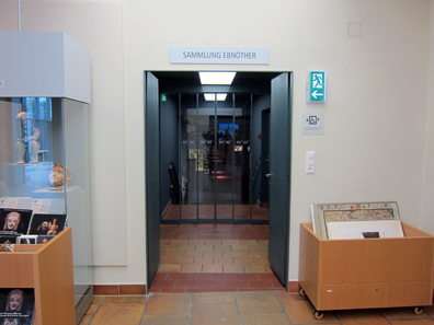 The Entrance of the Ebnöther collection's new display. Photo: KW.
