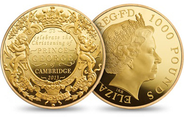 The 1,000GBP Gold Proof Kilo coin.
