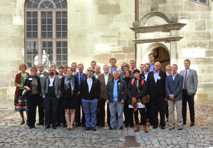 The participants of the workshop 'Archaeology of Money.' Photo: Thomas Zachmann, Institute of Classical archaeology Tübingen.
