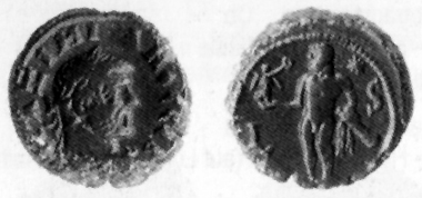 Maximian, 286-305. Tetradrachm, 290/1. Rev. Heracles with Nike and club. D. 5904-5907. Blancon, list 31 (1999-2000), 1028.