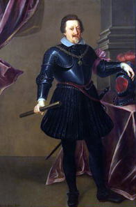 Ferdinand II. Emperor of the Holy Roman Empire, c.1635. Source: Wikicommons.