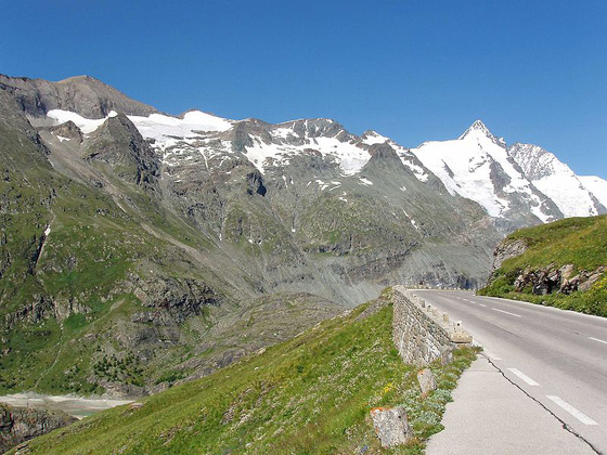 Großglockner High Alpine Road. Photo: Otberg / Wikipedia