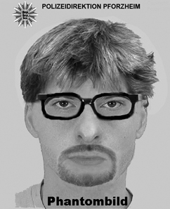 Facial composite of the robber.