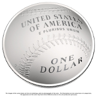 The new silver coin. © US Mint.