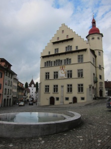The town hall of Sursee. Photo: KW.