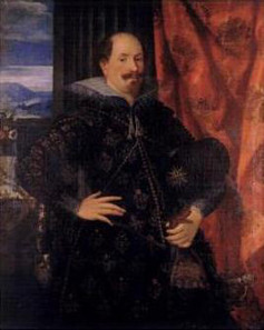 Count Ernst of Holstein-Schaumburg (1569-1622), painting by Hans Rottenhammer, 1612. Source: Wikicommons.