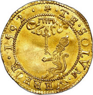 30249: James VI gold 80-Shillings 1592, S-5457, MS62 NGC. Sold for: $55,812.