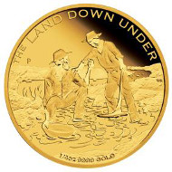 Australia / 25 AUD / 1/4oz 999 gold / 7.777g / 20.60mm / Design: Wade Robinson / Mintage: 1,000.