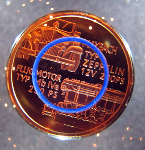 New bimetallic coin with polymer interlayer. Photo: UK.