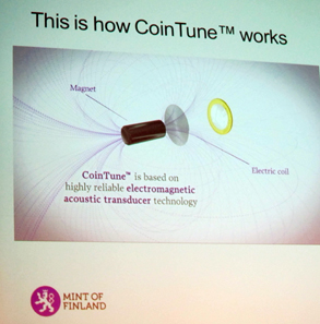 The principle of CoinTune (TM). Photo: UK.