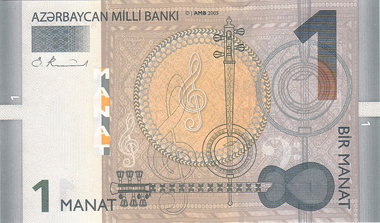 New banknote series from Azerbaijan. Photo: Wikipedia.