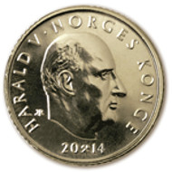 Special edition 20-krone circulation coin. © Norges Bank.