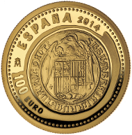 Spain / 100 euros / 999 gold / 23mm / 6.75g / Mintage: 4,000.