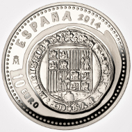 Spain / 10 euros / 925 silver / 40mm / 27g / Mintage: 7,500.