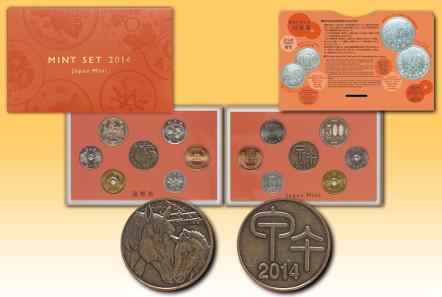 Japan Mint's Mint Set 2014. Source: Japan Mint.