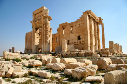 The Temple of Bel in Palmyra. http://creativecommons.org/licenses/by-sa/3.0/
