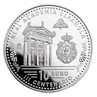 Spain/ / 10 Euro (8 reales)/ Silver 925/ 27 g/ 40 mm/ Mintage: 10,000.
