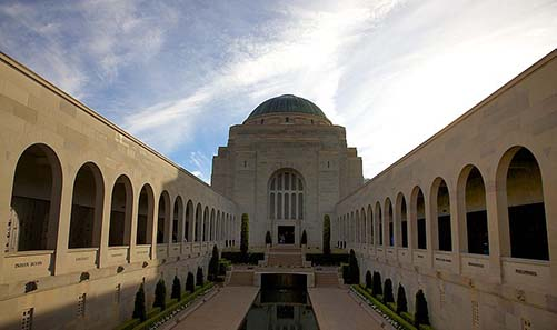 Australian War Memorial. Photo: Capital photographer (talk) / Wikipedia.