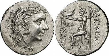 Odessos (Thrace). Tetradrachm, 125-70 B. C. The head of Herakles bears the facial features of Mithradates III. From auction Gorny & Mosch 186 (2010), 1285.