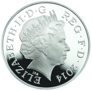Tower Bridge. UK/ 5 GBP/ Silver .925/ 28.28 g/ 38.61 mm/ Design: Glyn Davies & Laura Clancy/ Mintage: 3,500.