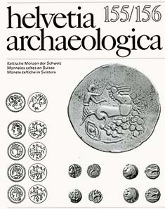 helvetia archaeologica no. 155 / 156. Andreas Burkhardt, Keltische Münzen der Schweiz. Publisher Schwabe, Basle. 98 pages with 210 mostly colour illustrations. Paperback. Adhesive binding. 21 x 27 cm. ISSN 0018-0173. Euros 20; CHF 30. To be ordered from: Helvetia Archaeologica, editorial department / Dr Rudolf Degen, Stegmattenweg 44, CH-4105 Biel-Benken.