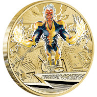 2014 Young Collectors Superpowers - Weather Control $1 Coin. Australia/ 1 AUD/ Aluminium Bronze/ 13.5 g/ 30.6 mm/ Designer: Tom Vaughan/ Mintage: Unlimited.