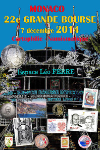 Official Grande Bourse 2014 poster.