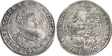 Bohemia. Frederick of the Palatinate. Kipper-48 kreuzer 1620, Prague. From auction sale Gorny & Mosch 153 (2006), 3031.
