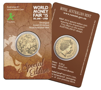 This coin in circulation quality will be available for 5 euros in Berlin, while 10 AUD are charged for it in Australia.