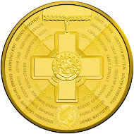 Australia / 2015 / 5 Dollar / Gold-plated Fine Silver Frosted / 31.87g / 40mm / Mintage: 5.000.