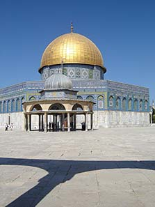 Abd al-Malik had the Dome of the Rock in Jerusalem built. Photograph: Orientalist / Wikipedia.