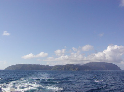 Picturesquely situated Cocos Island. Photo: JRAWLS / http://creativecommons.org/licenses/by/2.0/deed.en.