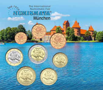 The 400 Lithuania Mint State Coin Sets in the popular NUMISMATA Blister were highly sought after.