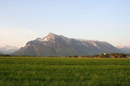 Untersberg near Salzburg. Photo by Matthias Kabel / Wikipedia.