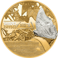 Cook Islands / 2015 / 5 Dollars / Silver .925 / 25 g / 38.61 mm / Proof / Mintage: 2000 pcs.