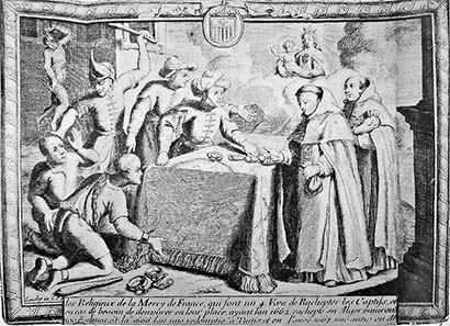 Trade in captives. 17th century. Source: Wikipedia.