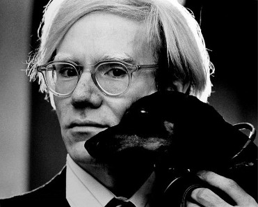 Andy Warhol, between 1966 and 1979. Photograph: Jack Mitchell / https://creativecommons.org/licenses/by-sa/4.0/