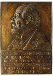 Josef Hermann Tautenhayn, Austrian Architect's Association to Otto Wagner on His 70th Birthday, 1911. © Jordi Puig / Fundació Rafael Masó.