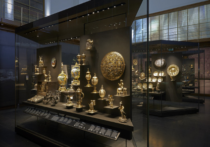 A view at the new display in the British Museum. © The Trustees of the British Museum.