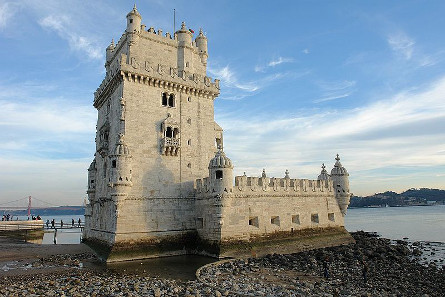One of Lisbon's most popular sights of interest: the Belém Tower. Photograph: Osvaldo Gago / https://creativecommons.org/licenses/by-sa/3.0/deed.en