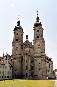 Abbey of St. Gall in Switzerland. Photograph: Roland Zumbühl / https://creativecommons.org/licenses/by-sa/3.0/deed.en